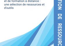 Sélection de ressources : « Mener des activités d'échanges et de formation à distance : une sélection de ressources et d'outils »