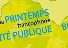 Troisième université de printemps francophone en santé publique