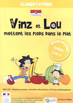 Vinz et Lou se mettent à table